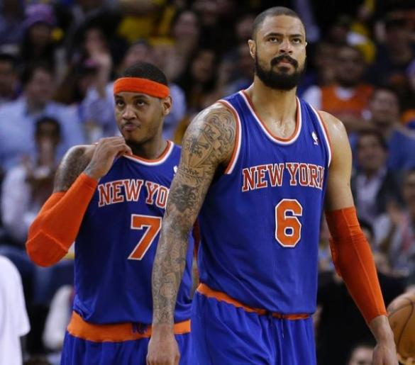 tyson-chandler-carmelo-anthony-knicks