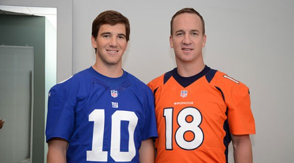 Peyton_Manning_Denver_Broncos_Jersey_Photos_Video_Directv_Commercial_Eli_Manning1